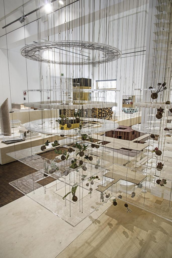 Handmade Plante Planeter cooperating with Henning Larsen Architecture