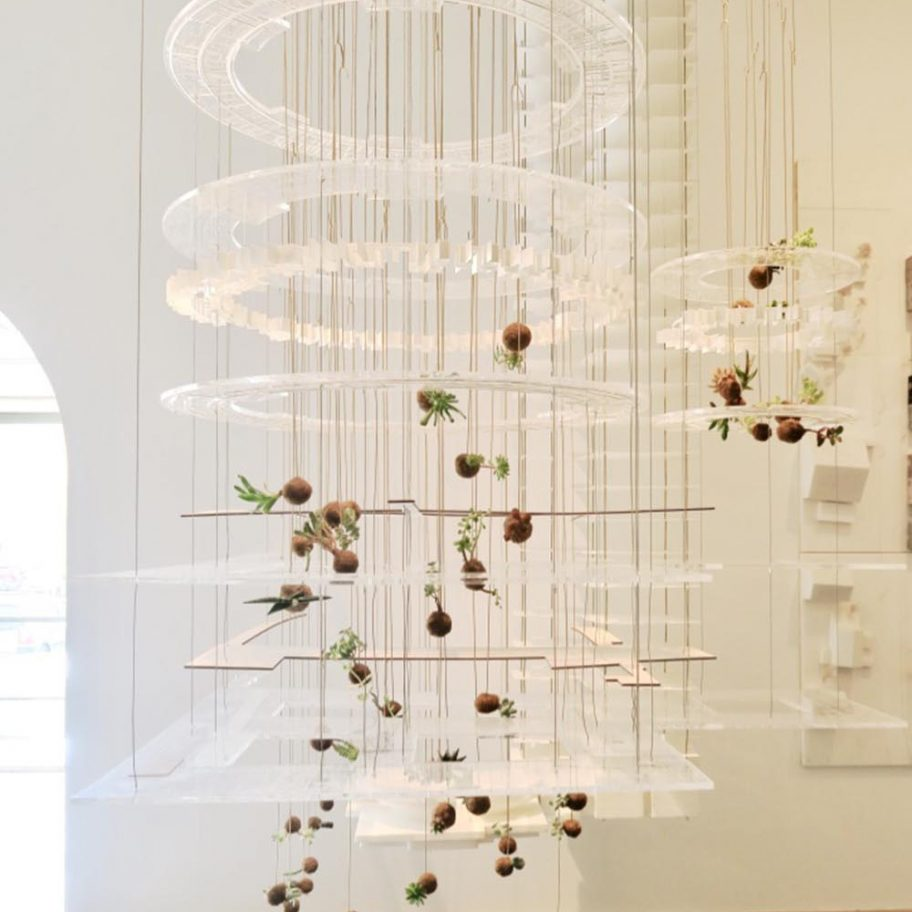 Handmade Plante Planeter cooperating ved Henning Larsen Architecture