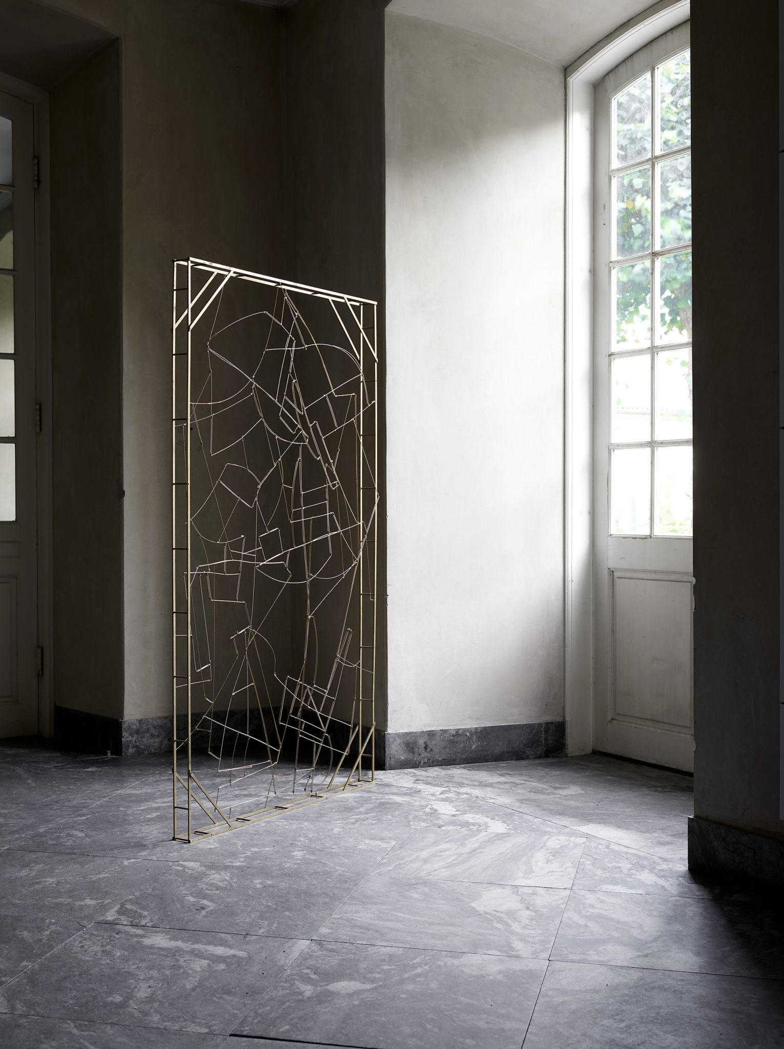 Standing Frame art installation handmade and design Kaja Skytte