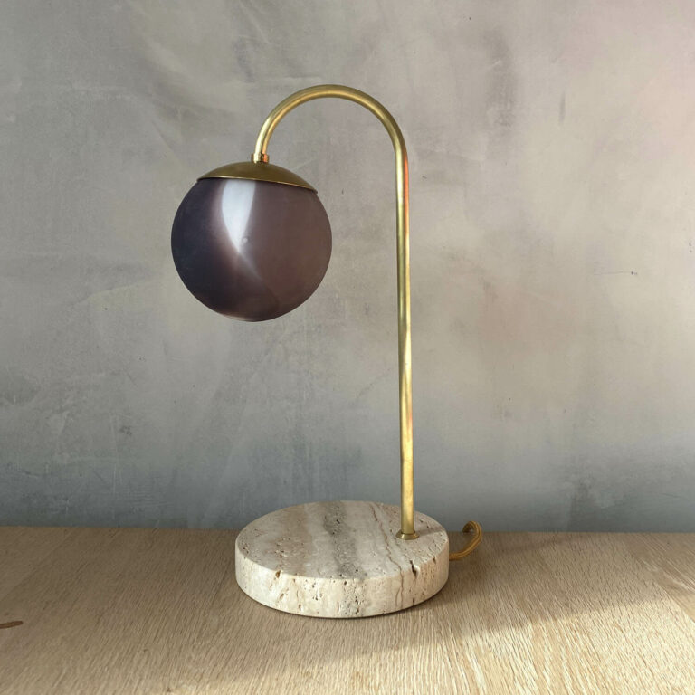 Bordlampe dansk design Kaja Skytte