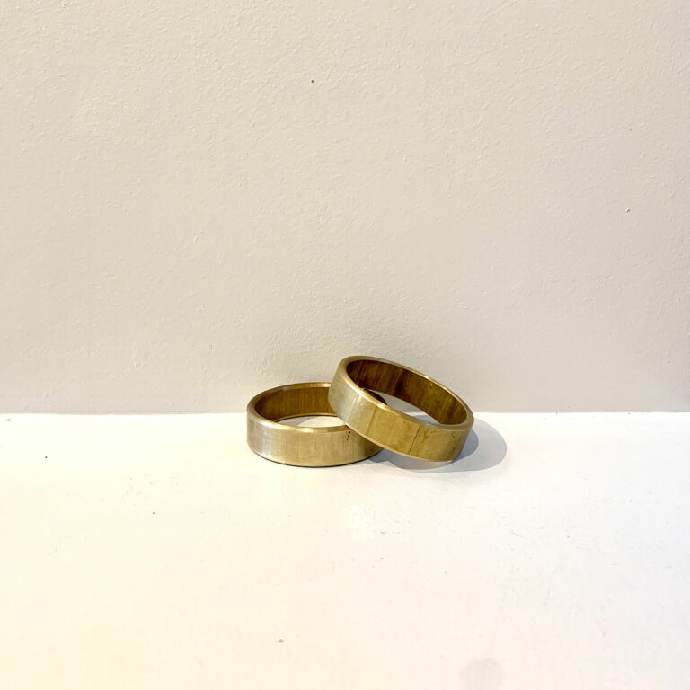 Brass ring kaja skytte design Danish design